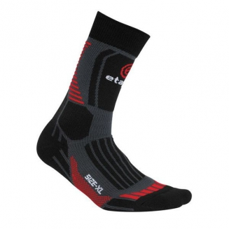 Etape Cross socks black/red