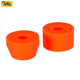 Jelly bushings neon orange